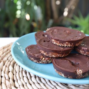 chocolate tahini treats