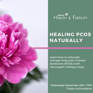 September 25th: Healing PCOS Naturally