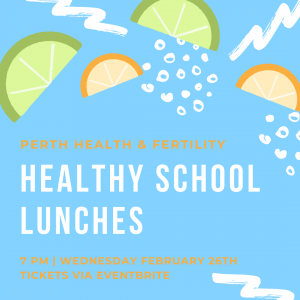 February 26th, 2020: Healthy School Lunches