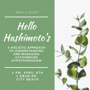 April 8th, 2020: Hello Hashimoto's